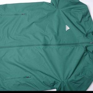 Adidas new full zip green warm up jacket sz XXL NWT